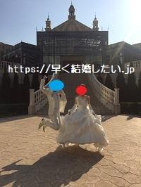 ツヴァイ成婚退会後に結婚式で撮った写真